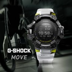 Big Watches, G Shock Watches, Cool Watches, Moves App, New G Shock, Heart Rate Zones, Endurance Training, Burberry Men