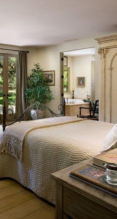 Mediterranean Bedroom Design by sandyadler