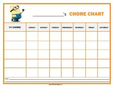 the puzzled palate my busy bee chore chart free printable