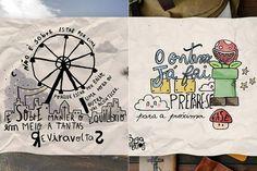 As frases e ilustrações positivas de Daniel Duarte