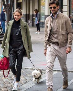 Estilo Olivia Palermo, Olivia Palermo Lookbook, Olivia Palermo Style, Stylish Couple, Stylish Men, Men Casual, Daily Fashion, Mens Fashion, Trendy Fashion
