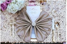 purple and gold valentine dinner 4 Wedding Napkins, Wedding Table, Wedding Dinner, Wedding Menu, Wedding Invitation, Invites, Wedding Stuff, Wedding Decorations, Table Decorations