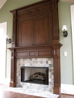 The Tellico Mantel Clic Collection Custom Fireplace Mantels This Stain Victorian