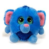 Trunks the Lubby Cubbies Round Stuffed Elephant by Fiesta
