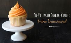The Ultimate Cupcake Guide compares six batches of cupcakes to discover which ingredients techniques make cupcakes light, dense, greasy, crumbly, or moist. Brownie Recipes, Cupcake Recipes, Dessert Recipes, Pie Dessert, Party Recipes, Ultimate Cupcake Recipe, Cupcake Bakery, Baking Cupcakes, Let Them Eat Cake