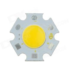 Brand: Kindfire; Model: DQ-20; Material: Aluminium base; Color: White + Yellow; Quantity: 1 Piece; Power: Others,7W; Rate Voltage: 21~22.4V; Working Current: 300 mA; Dimmable: no; Emitter Type: COB; Total Emitters: 1; Color BIN: Warm White; Beam Angle: 180 °; Color Temperature: Others,3000~3500K; Theoretical Lumens: 580 lumens; Actual Lumens: 560 lumens; Packing List: 1 x Light source module; http://j.mp/1tpgijU