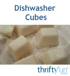 Instead of buying expensive and caustic dishwasher detergent, make your own version with simple ingredients and an ice cube tray. It will save you money and peace of mind. Learn how to make them in this short video.