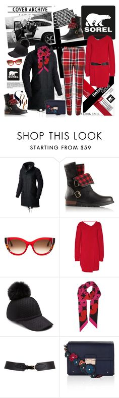 """Kick Up the Leaves Stylishly With SOREL: (CONTEST Entry)"" by ellie366 ❤ liked on Polyvore featuring SOREL, Thierry Lasry, MSGM, House of Lafayette, Maison Boinet, Accessorize, Vivienne Westwood Red Label, plaid, redpants and sorelstyle"