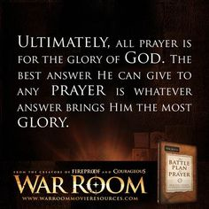 The Battle Plan for Prayer // War Room (2015) Kendrick Brothers movie / Prayer unites. / quotes / prayer / war room / pray /