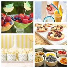 10 Healthy School Party Snacks on Mom's Kitchen Handbook School Party Snacks, Healthy Party Snacks, Smart Snacks, Snacks For Work, Healthy Kids, Kid Snacks, School Parties, Tasty Bites, Yummy Smoothies