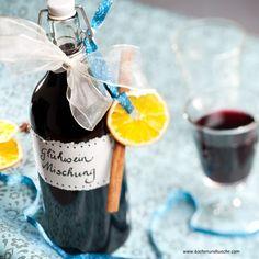 Glühwein-Ansatz-Mischung Wine Gifts, Rock Candy, Food Gifts, Ginger Beard