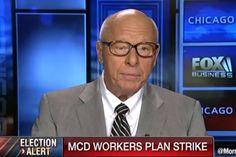 Former McDonald's CEO Warns $15 Min Wage WILL KILL LOTS OF JOBS (VIDEO)  Jim Hoft May 26th, 2016