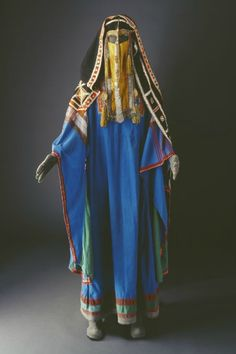 Traditional costume of the Harb Tribe of Saudi Arabia