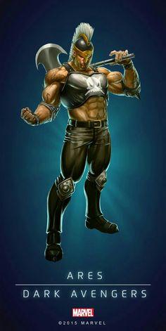Ares Dark Avengers