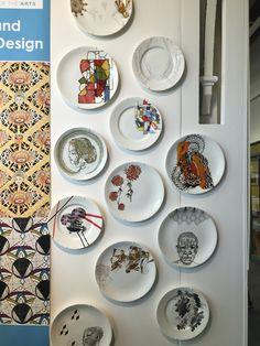Surface design on ceramics