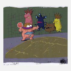 Original Art From '90s Cartoons