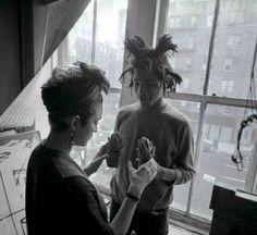 Jean-Michel Basquiat et Madonna