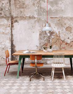 blickfang favoriten   jan cray #diningroom #wall #concrete #furniture #möbel #interiordesign #decoration #room #ambiente #home #living #design #decoration #einrichtung