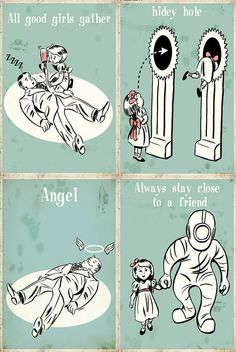 Set of 4 Bioshock Little Sister magnets by MyGeekBoutique on Etsy, $9.95