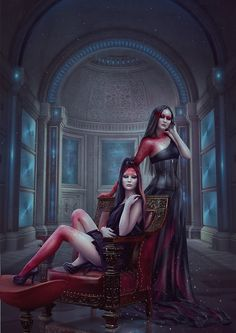 Blood Zodiac. Gemini by Vasylina on DeviantArt