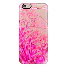 iPhone 6 Plus/6/5/5s/5c Case - FAIRY DUST - PINK - Colorful Pretty... ($40) ❤ liked on Polyvore featuring accessories, tech accessories and iphone case