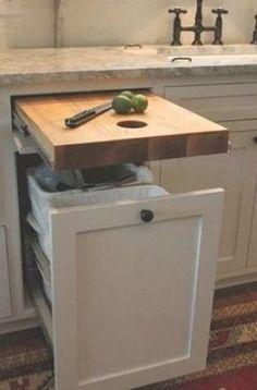 Decor, Farmhouse Kitchen Decor, Storage, Kitchen Design Small, Kitchen Design, Diy Kitchen Storage, Best Kitchen Cabinets, Wood Projects Plans, Home Decor
