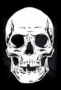 114 Best Skull Stencil Images In 2019 Skulls Skull Art