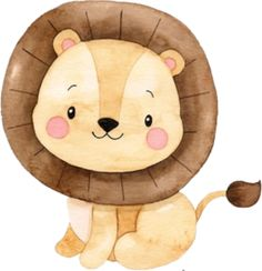 Safari baby Art Drawings For Kids, Animal Drawings, Art For Kids, Jungle Theme Birthday, Animal Birthday, Safari Party, Safari Theme, Baby Clip Art, Baby Art