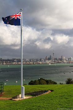 Auckland, New Zealand, Mt Victoria or North Head? J.J. - Worked nearby at Devenport Naval base for a while