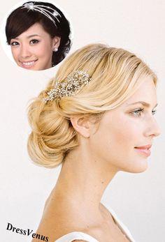Bride Hair Style.