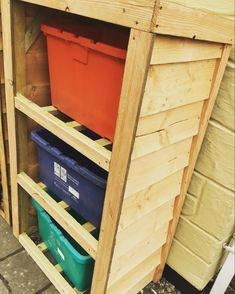 Box Storage Unit, Log Table, Bird Boxes, Slate Roof, Table Centers, Milling, Pallet, Recycling, Woodworking