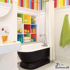 Ванные комнаты для детей