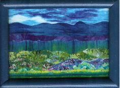 Lorraine - Krazy Kat Lady: Fabric Landscape - several (very colourful)
