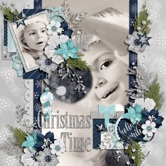 Silver Bells Bundle by Amber Shaw http://www.sweetshoppedesigns.com/sweetshoppe/product.php?productid=35332  December in Layouts 1 by Miss Mel Templates