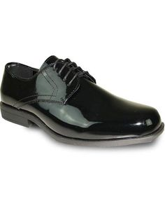 the latest 68a5a ecf97 ID DB19553 Tuxedo Black Patent Oxford Formal for Prom   Wedding Lace Up  Dress Groomsmen Shoe