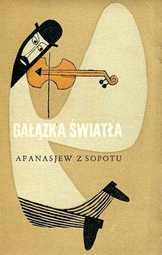 """""""Gałązka światła"""" Afanasjew z Sopotu Cover by Janusz Stanny 1962"""