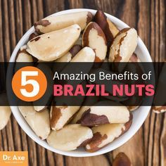 Brazil nuts - Dr. Axe http://www.draxe.com #health #holistic #natural