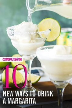 When you think about the international treasure that is the margarita, you probably imagine the O.G. version: Tequila, triple sec, and lime juice on the rocks with a little salt on the glass. But there's more than one path to margarita enlightenment.