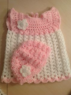 Baby Dress and Hat $14.00