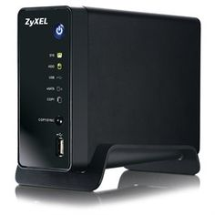 ZyXEL NSA310 1-bay Network Attached Storage and Media Server #tech #backup