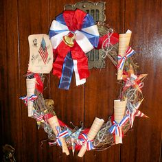 4th of July wreath!