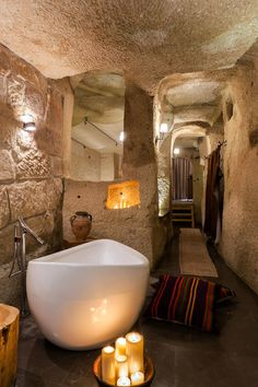 The House Hotel Cappadocia, Ortahisar, Turkey Sleek newcomer in a traditional Cappadocian village, with rooms in ancient caves and stone houses and a buzzy rooftop restaurant