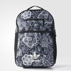 b4794c0358 Adidas Originals GIZA E Backpack Bag Black Sport Casual 30 x 44 x 17 cm  BK7046