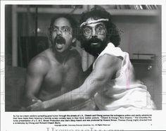 """1981 Press Photo R. Cheech Marin Tommy Chong """"Cheech and Chong's Nice Dreams"""""""