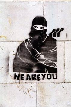 Banksy We Are You Art Print - pinnervo Street Art Banksy, Banksy Graffiti, Bansky, Pop Art, Amazing Street Art, Political Art, Outdoor Art, Street Artists, Urban Art