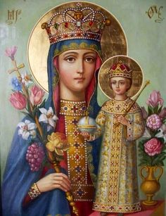 Behold thy Mother and Holy Queen!