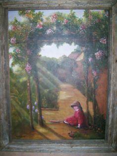 Grandma's Garden painting