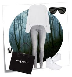 """""""Deepest darkest"""" by thebollings on Polyvore featuring Post-It, Acne Studios, Givenchy, Yves Saint Laurent, Vans and Repossi"""