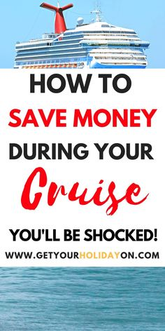 Carnival Cruise Tips for First Time Cruisers! Save Money on your next cruise with these Carnival Cruise Tips! First time Cruisers and PRO cruisers will be SHOCKED at the FREE stuff you can get! Cruise First Time, Family Cruise, Best Cruise, Spring Break Cruise, Family Travel, Packing For A Cruise, Cruise Travel, Cruise Vacation, Cruise Trips