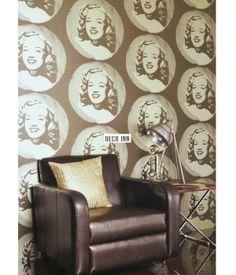 $3800 1.5坪【Deco Inn】Visage‧歐洲英國期貨壁紙‧復古美國經典瑪麗蓮夢露!(RE)(3色) | DECO INN 設計傢飾 - Yahoo! 奇摩拍賣